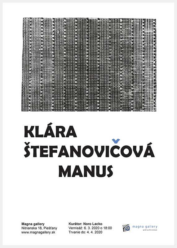 Klára Štefanovičová Manus