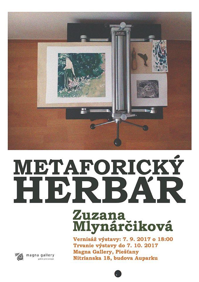 Metaforický herbár Zuzany Mlynárčíkovej uvidíte už od štvrtka 7. septembra